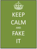 keep calm green