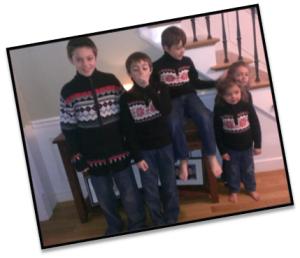 kids christmas photo 5