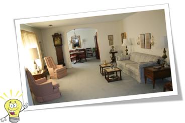 formal living room idea